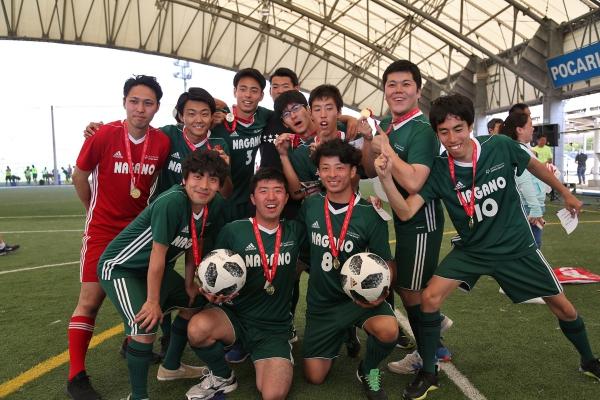 夏季世界大会・アブダビ日本選手団決定! 長野からはユニファイドサッカーにアスリート5名、パートナー5名、コーチ2名、 ゴルフにコーチ1名が参加します。