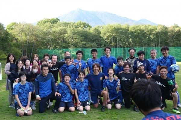 サッカー強化練習&医科学サポート(身体組成・筋力測定、トレーニングメニューの提供、栄養指導)を実施しました。