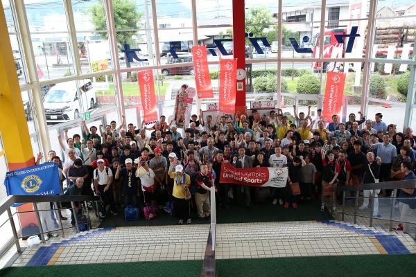「ライオンズクラブ国際協会334-E地区&スペシャルオリンピックス日本・長野 チャリティーボウリング大会(ユニス・ケネディ・シュライバー・デー ユニファイ ド(r)アクト)」を開催しました。
