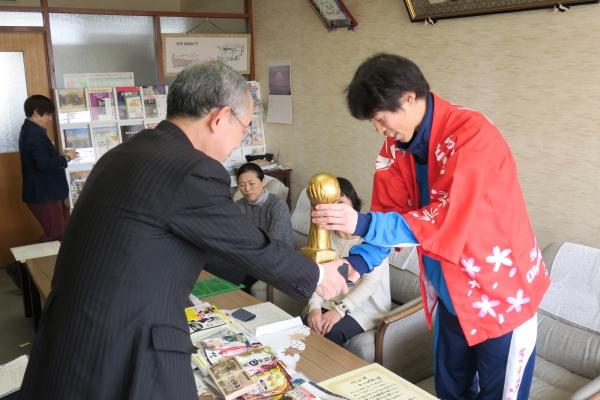 2017Gothia Cup 準優勝報告で、須坂市長を表敬訪問しました。