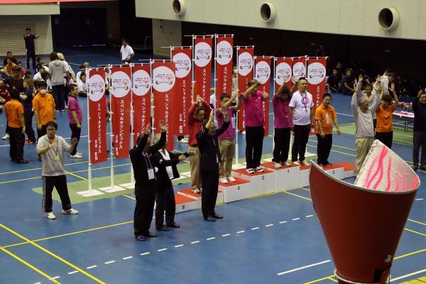 スペシャルオリンピックス日本・愛知設立20周年記念「2019年第11回スペシャルオリンピックス日本・愛知夏季地区大会」に参加し、多数のメダルを獲得しました。