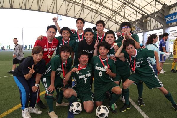 第3回 全国ユニファイドサッカー大会 Diiv1 優勝!