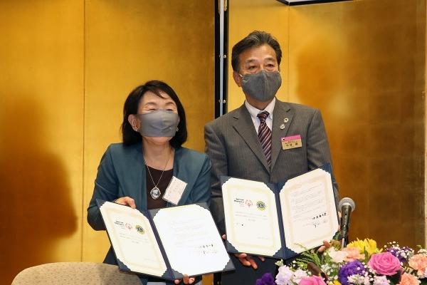 一般社団法人長野県ライオンズ様とパートナーシップを締結し、調印式を挙行しました。