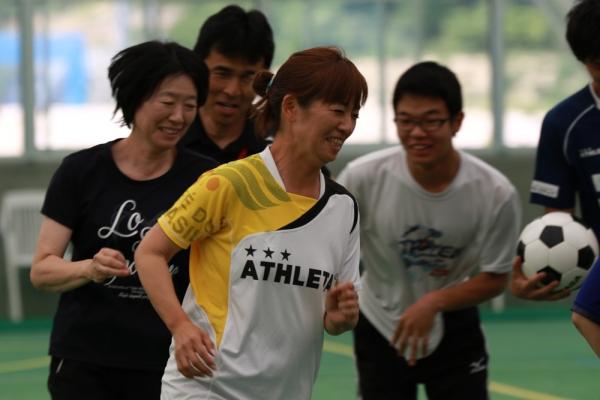 走るのはサッカーの基本!