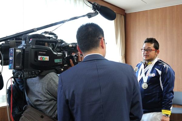 テレビ局直撃インタビュー!まるでタレントさんみたい!
