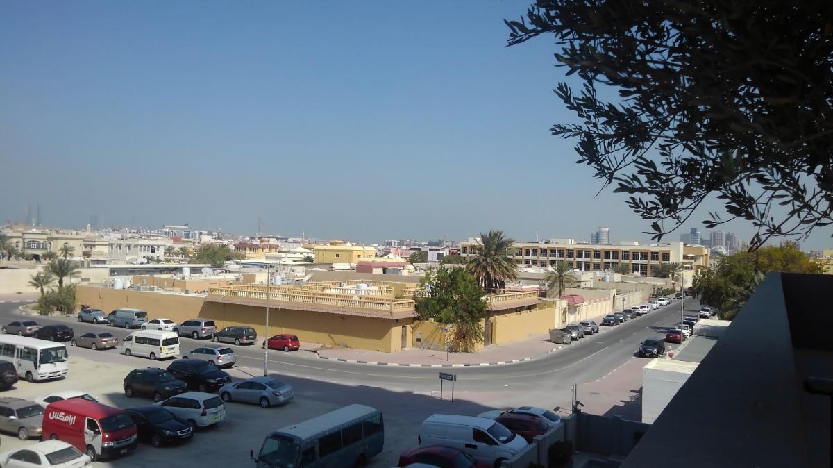 アブダビの街並み