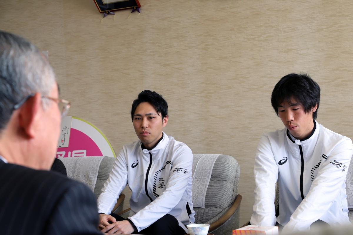 2月8日 須坂市訪問