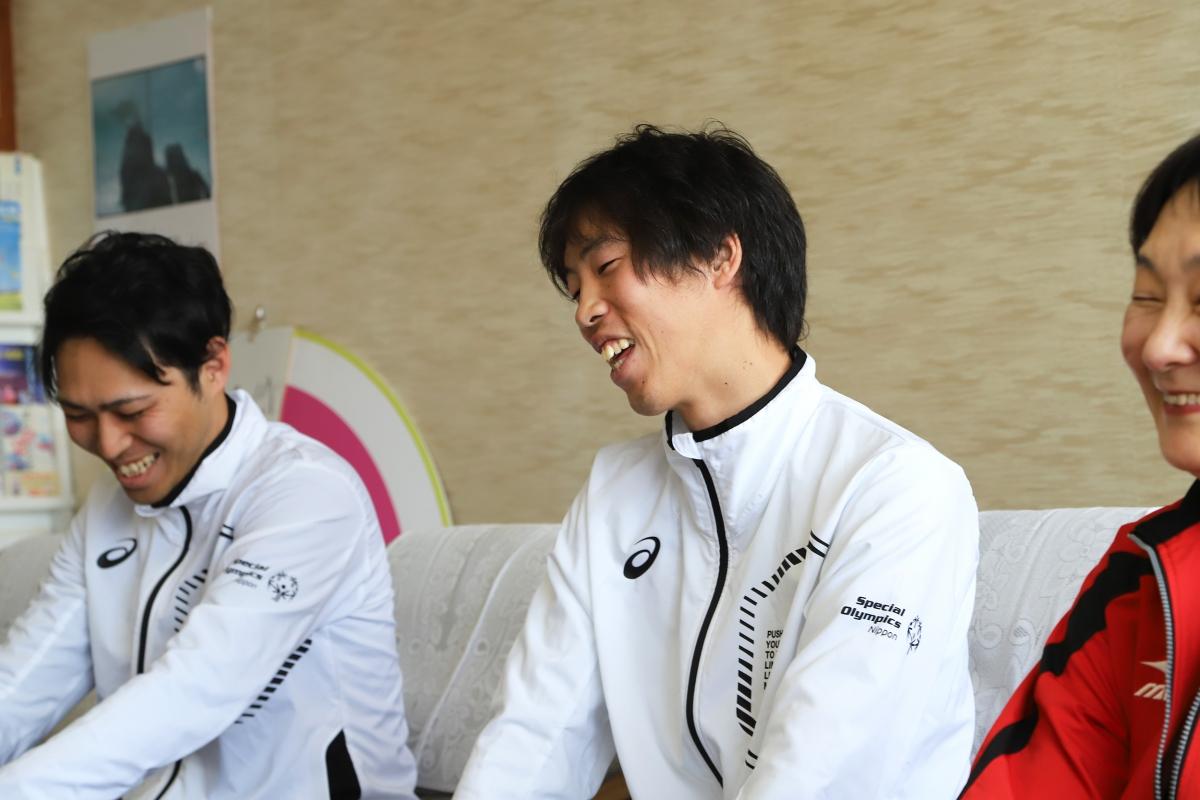 2月8日 須坂市訪問 須坂出身のイノッチと・・・