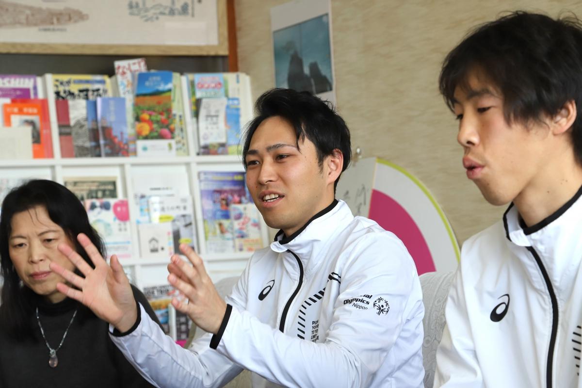 2月8日 須坂市訪問 イノッチ兄(パートナー)が須坂市を訪れました