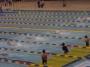 広々した施設のプールで、練習の成果を思いっきり発揮します。