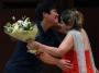 感謝の花束贈呈。 秦さん本当にありがとうございました。