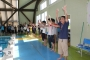 SO表彰式には、茅野の選手たちも参加して、一緒にバ・ン・ザ・イ!