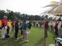 ゴルフは若松ゴルフ倶楽部で行われました。